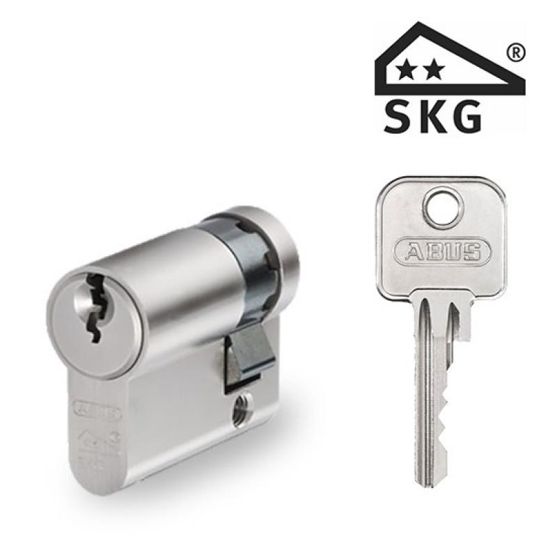 Zylinderschloss Abus E60 Halbzylinder SKG2