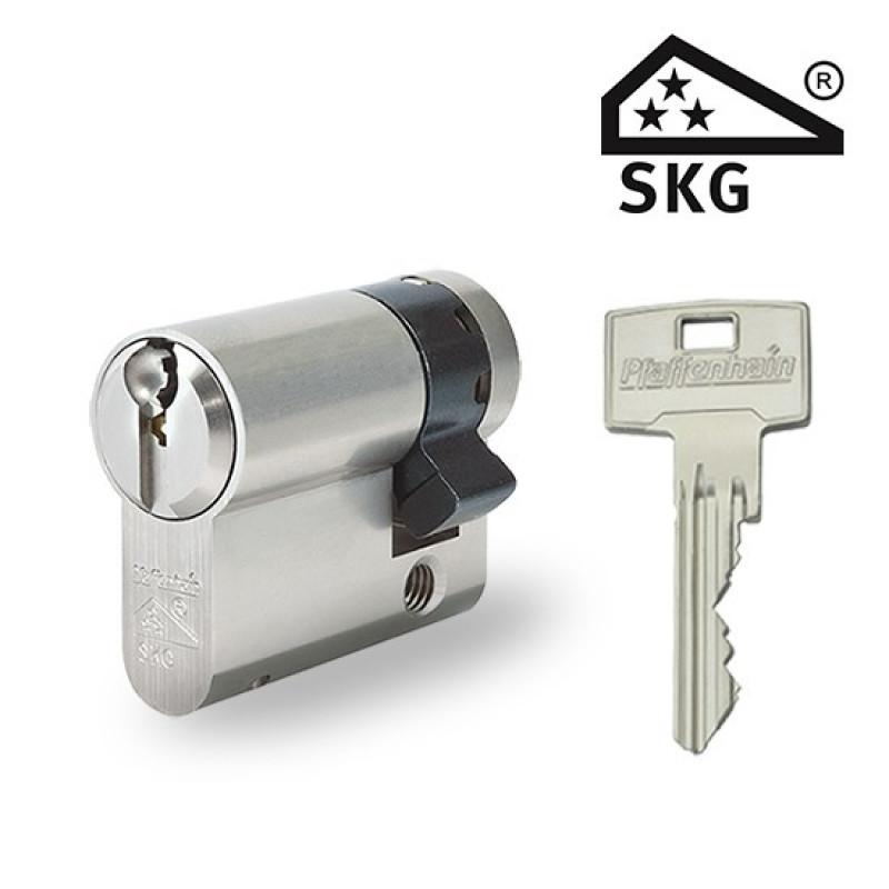 Zylinderschloss Pfaffenhain Halbzylinder SKG3